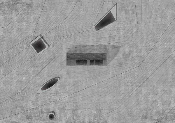 Plan de Masse Olha, le Kayolar enchanté / Sandrine IRATCABAL