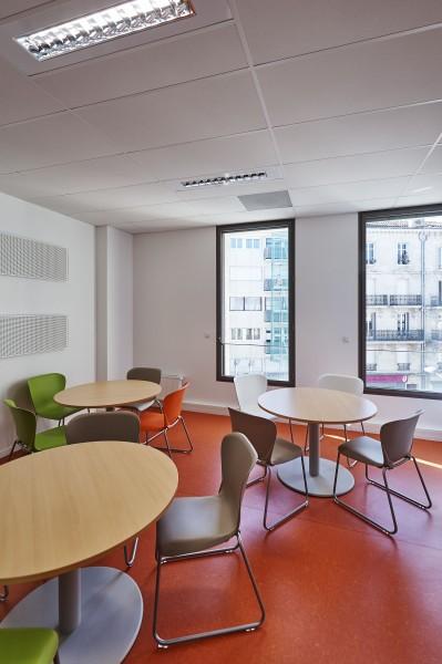 Salle de détente / Philippe Caumes