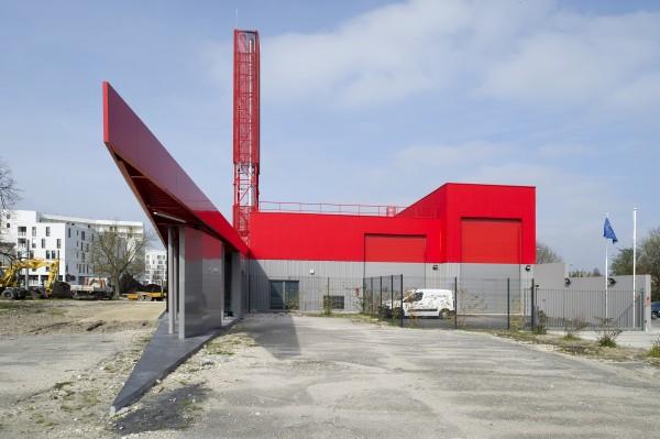 Chaufferie biomasse à Bègles / Antoine Guilhem-Ducléon