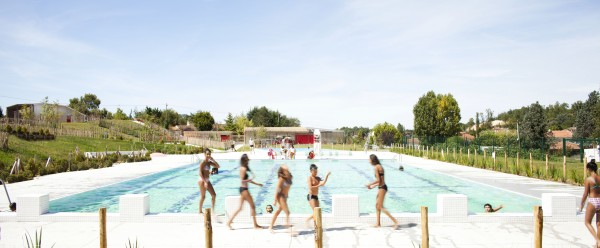 vue du bassin sportif / Edouard Decam