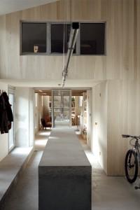 la maison en miroir de l'atelier  / Agnès Clotis photographe
