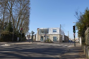 Vue depuis l'Avenue d'Eysines / Bupa Architectures  |  Cabinet Dentaire