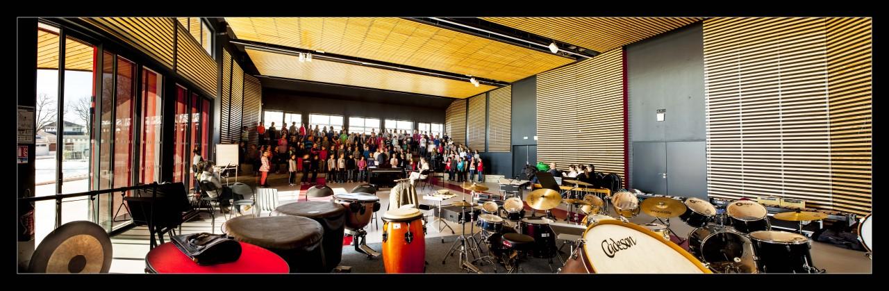 Salle Harmonie / L'Atelier d'Hervé