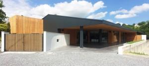 Salle de réception Ext / L'Atelier d'Hervé