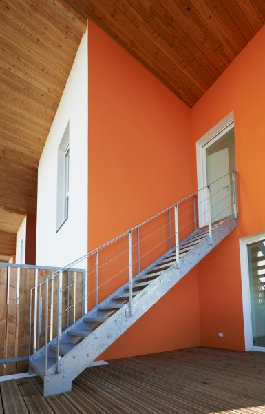 CIEL'O - terrasse d'un duplex / Denis Lacharme