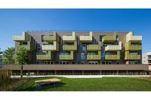 Les Fragons - logements à Villenave d'Ornon / Arthur Péquin