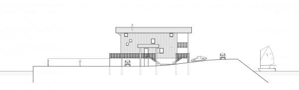 coupe paysagère / Bertrand Digneaux Architecte