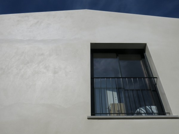 facade sud (chantier) / 2pma