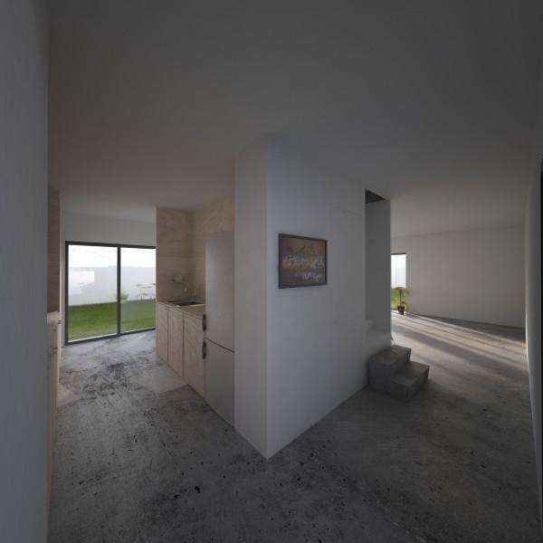 interieur sur cuisine (perspective) / 2pma